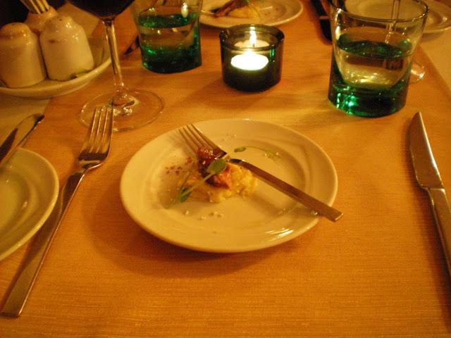 Restaurante de lujo a precio asequible: Borssò Bistro (Budapest)