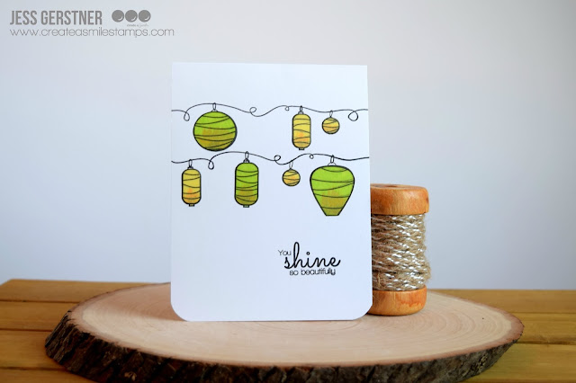 You Shine Cards by Jess Crafts for Create a Smile Stamps