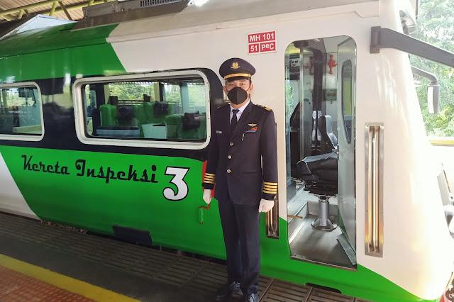 Kondektur Kereta Api Berdinas KA Inspeksi 3 ,  Sistem inspeksi perkeretaapian adalah sekumpulan sistem inspeksi yang sangat esensial untuk keselamatan perjalanan transportasi rel.