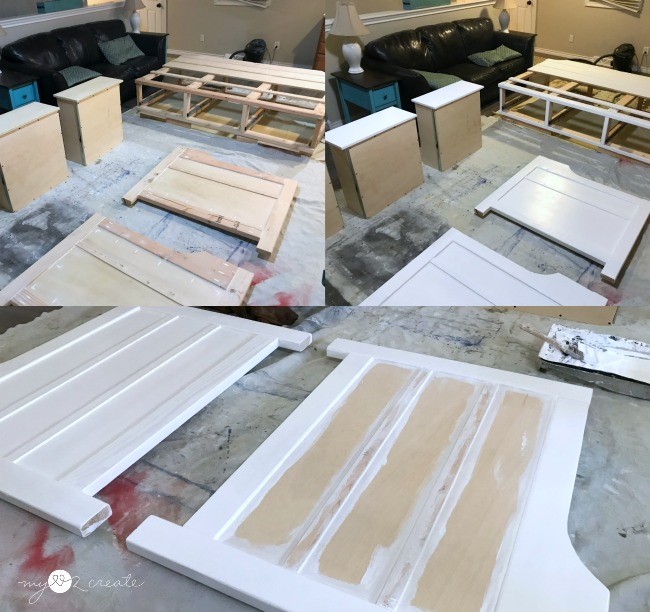 painting daybed