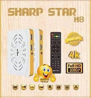 مواصفات رسيفر شارب ستار Sharp Star H8