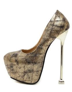 sepatu high heels wedges