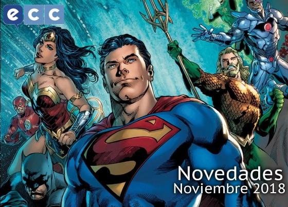 Novedades de ECC Ediciones para Noviembre de 2018