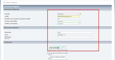 Cómo registrarse en ForoAmistad