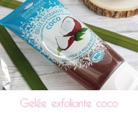 Gelée exfoliante coco bio Emma Noël