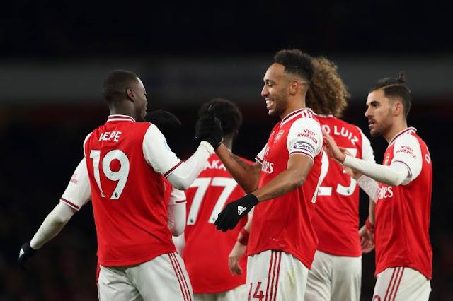 Video Cuplikan Gol: Arsenal 4-0 Newcastle United (Premier League)