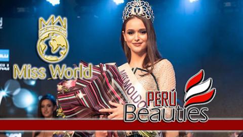 Elizaveta Kuznitova es Miss Moldova 2019