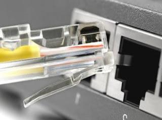 Koneksi LAN pada jaringan tertutup