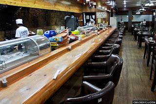 Restaurant Interior, Authentic Japanese Cuisine at Nihonbashi Tei