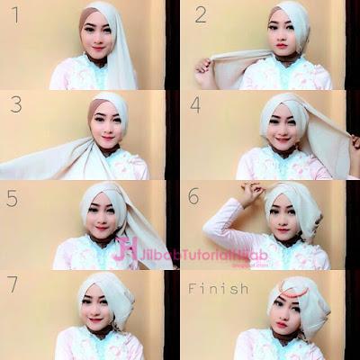 Tutorial Hijab Paris Segitiga Modern dari Video Youtube