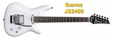 Joe Satriani Ibanez JS2400 Guitar