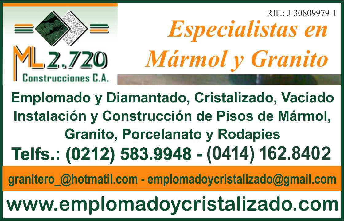 ML 2.270 CONSTRUCCIONES, C.A. en Paginas Amarillas tu guia Comercial