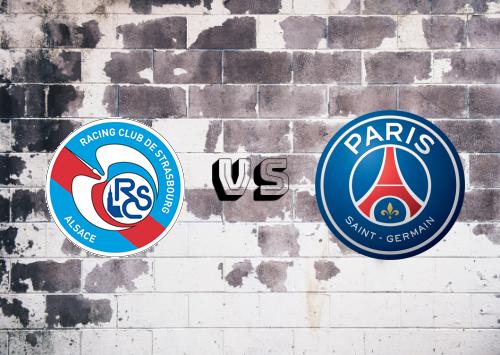 Strasbourg vs PSG  Resumen y Partido Completo