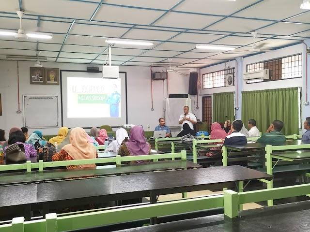 Bengkel Flipped Classroom di SMK Ibrahim