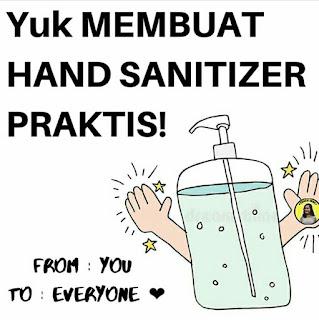 Cara Membuat Hand Sanitizer Praktis