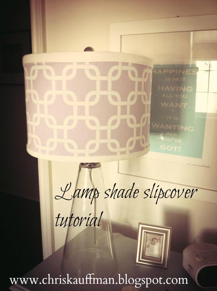 White wood easy lamp shade slipcover tutorial not one drip of glue easy lamp shade slipcover tutorial not one drip of glue mozeypictures Gallery