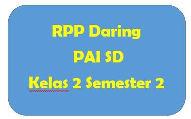 RPP Daring PAI SD Kelas 2 Semester 2