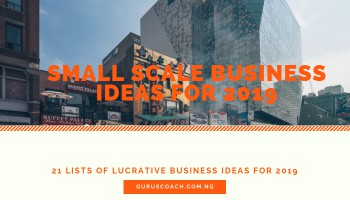 11 Small Scale Business Ideas in Nigeria 2019