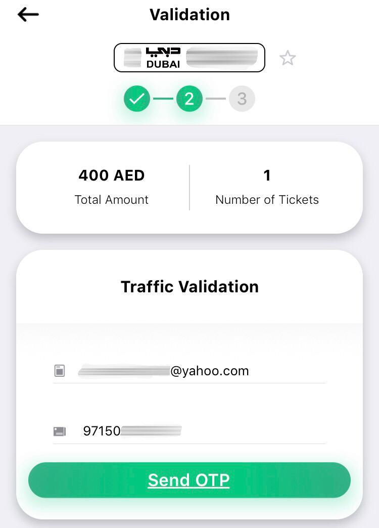 RTA Fines, Dubai Fines