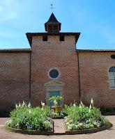 L'ancien hôpital de Châtillon-sur-Chalaronne abritant la salle Gérard Maré