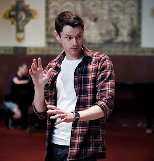 Dafydd Hall Williams in rehearsal for Don Giovanni