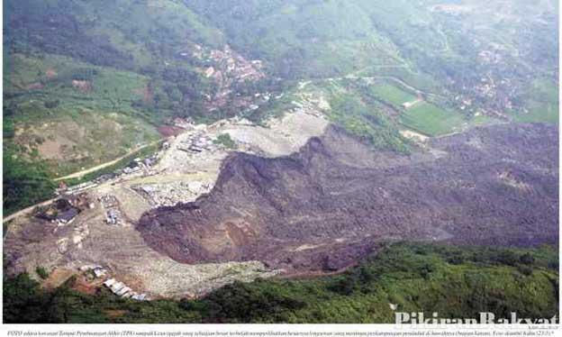 Tragedi Bencana Akibat Sampah di Leuwigajah Cimahi tahun 2005