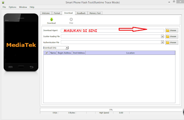 Kumpulan DA(Download Agen) Mediatek Infinix
