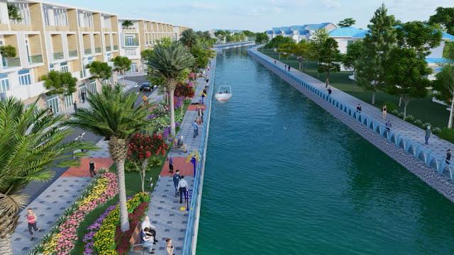 Vì sao đô thị ven sông tại Thoại Sơn hút vốn đầu tư?