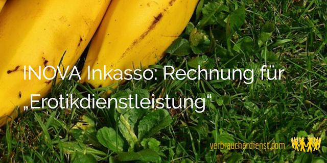 """Titel: INOVA Inkasso: Rechnung für """"Erotikdienstleistung"""""""