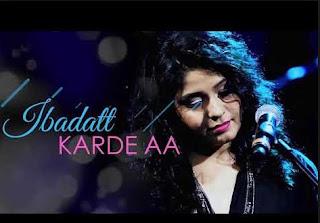 Lirik Lagu Ibadat - Sunidhi Chauhan