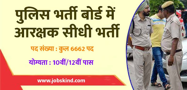 SLPRB Recruitment 2019 jobskind