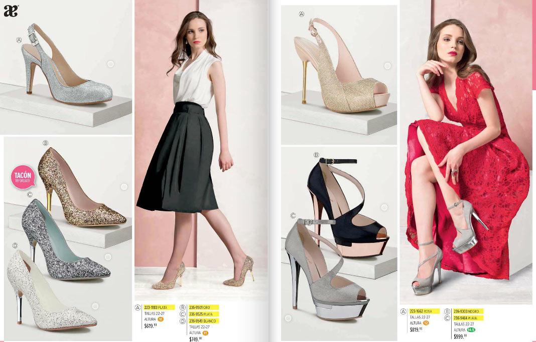 c221a44b Catalogo de zapatos Andrea primavera 2018 | fiestas ~ modayzapatos