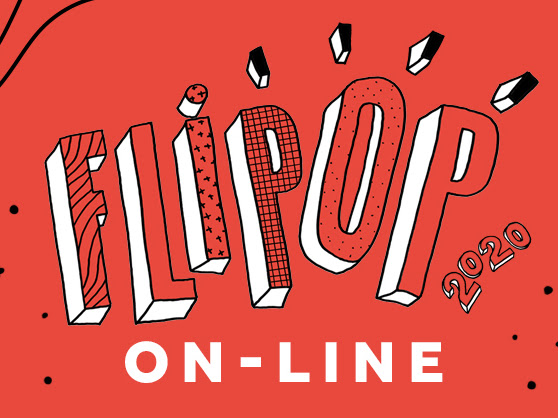 Vem aí: FLIPOP 2020 - ON-LINE