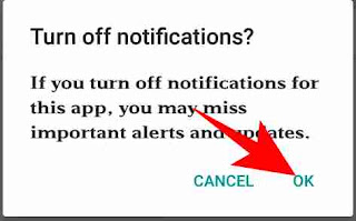 Android mobile app notification stop kese kare 5