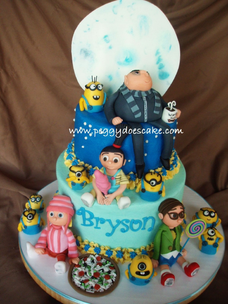Peggy Does Cake Despicable Me Click Photos To Enlarge