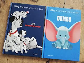 Recenzja książki Dumbo, recenzja książki 101 dalmatyńczyków, blog atrakcyjne wakacje z dzieckiem, najlepsze recenzję książek dla dzieci
