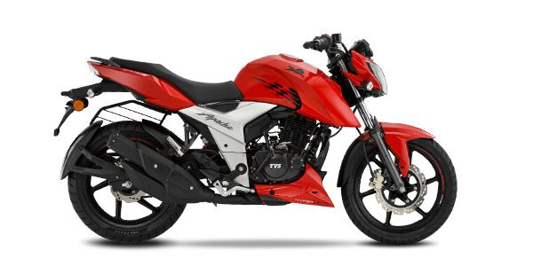 New 2018 TVS Apache RTR 160 4V Naked version 2