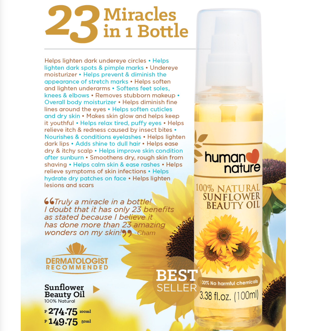 Human Nature Sunflower Oil Review