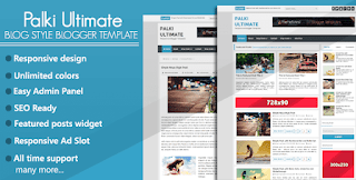 Palki Ultimate Blogger Template