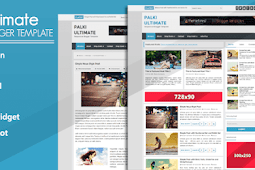 Palki Ultimate Blog Style Blogger Template
