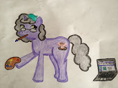 "Art on my ""hooves"" pony"