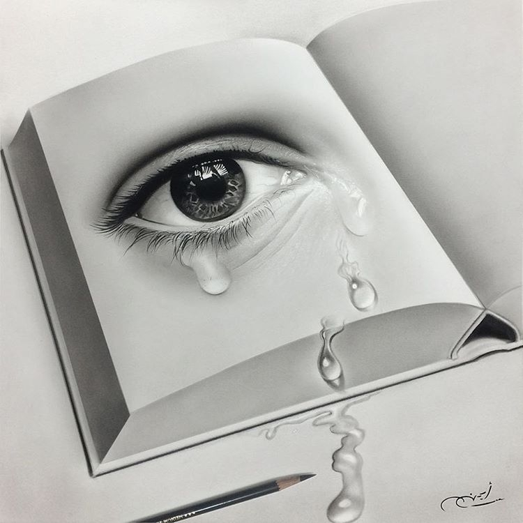 21-Tears-from-a-Page-aymanarts-Realistic-Drawings-of-Celebrities-and-Other-www-designstack-co