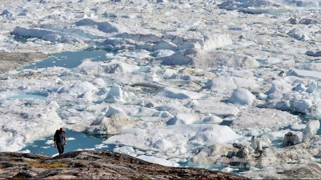 Εξαφανίζονται με αυξανόμενο ρυθμό οι πάγοι της γης