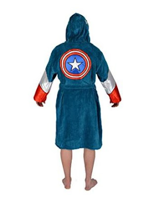 Capitan America Bathrobe