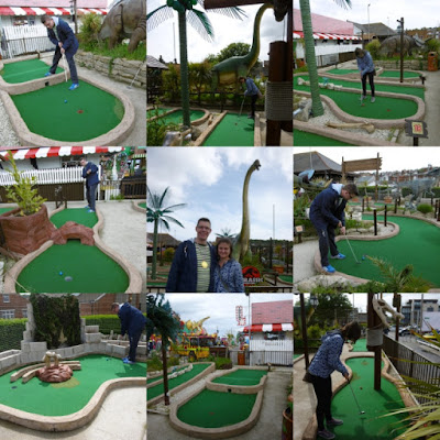 Jurassic Adventure Golf in Swanage, Dorset