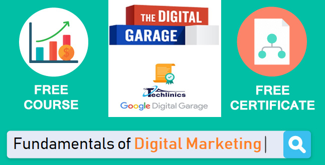 Digital garage google certificate free online course