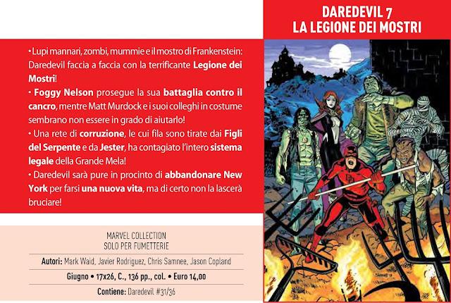 Daredevil #7: La legione dei mostri
