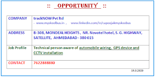 ITI Electrician And Wireman Jobs In Ahmedabad