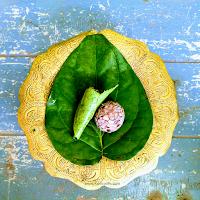 Tamul Paan served in a bell metal utensil called Bota