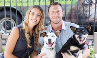 Max And His Wife With Their Dogs